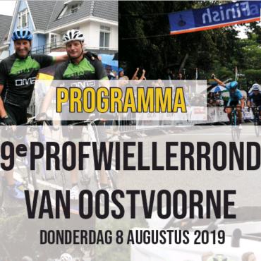 Deelnemers Profronde Oostvoorne